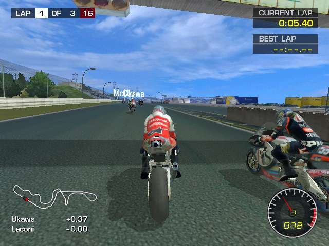 download setup of MotoGP 2 game for desktop or laptop in highly compressed