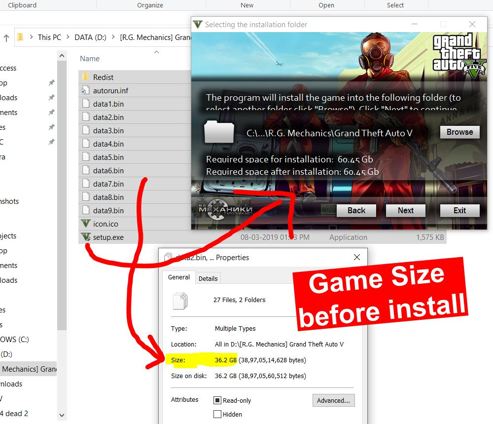 gta 5 highly compressed game size before install